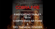 COBRA Fire CAFS Trailer Unit